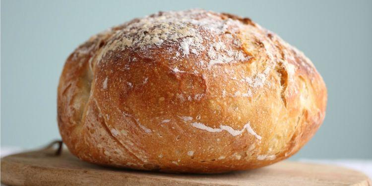 Homemade No-Knead Bread