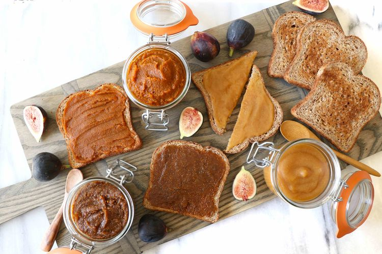 The Fall Spreads You Need to Try: Healthy Pumpkin Butter, Apple Butter & Fig Butter