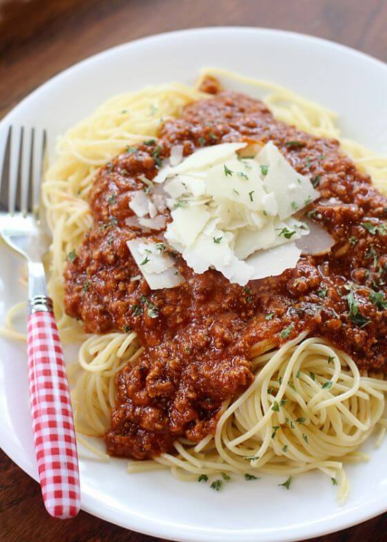 Freezable Spaghetti Sauce