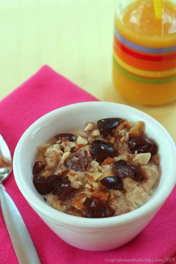 Freezer Fruit Nut Oatmeal Cups Cooked 1