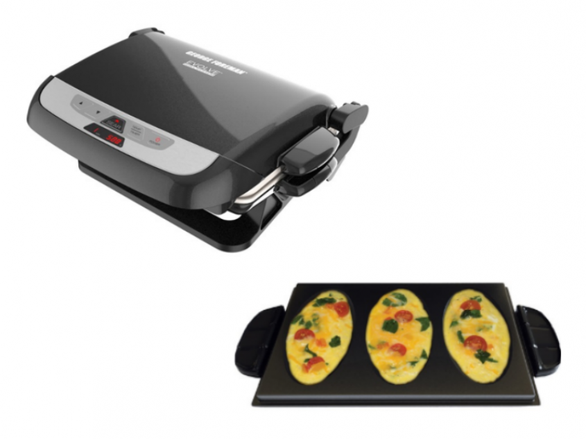 George Foreman Evolve Grill Omelet Plate