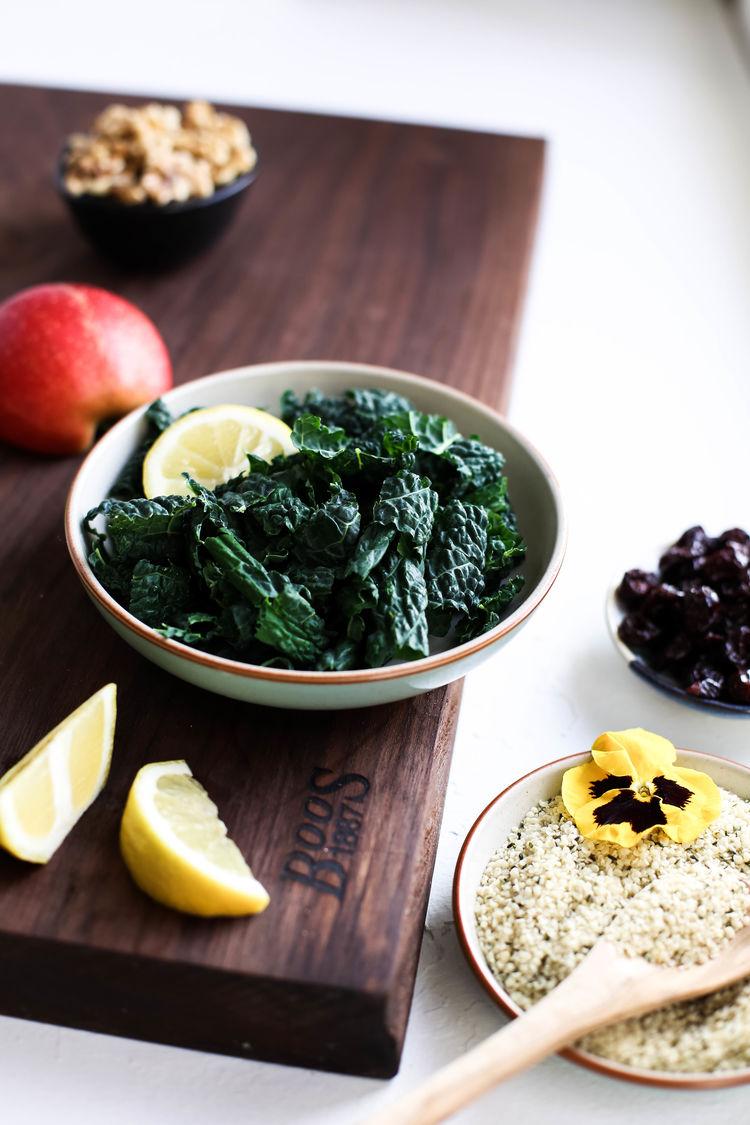 Harvest Apple Quinoa Kale Salad 4