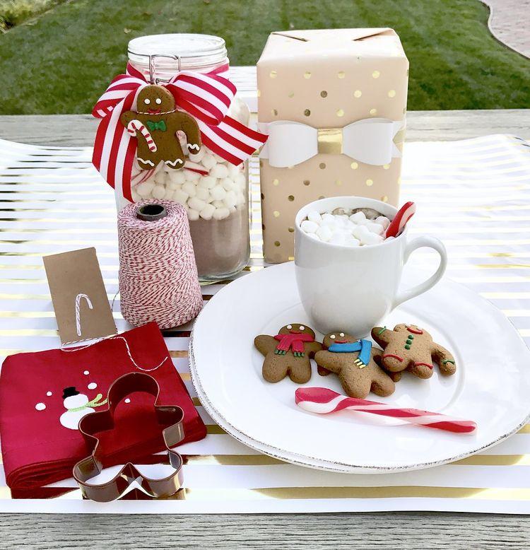 Hostess Gifts Gingerbreadhotcocoa