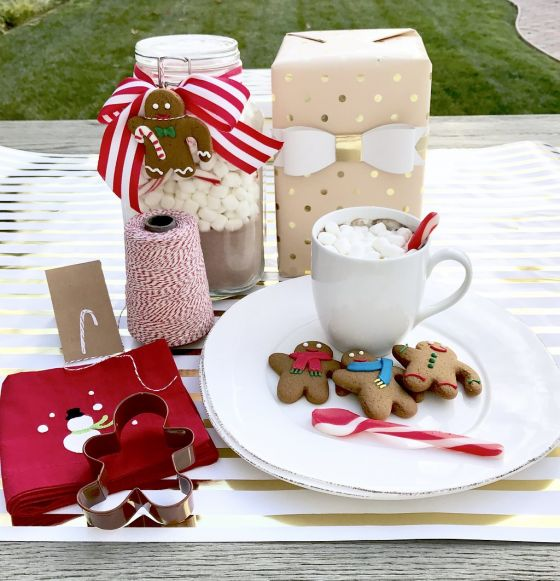Hostess Gifts Gingerbreadhotcocoa