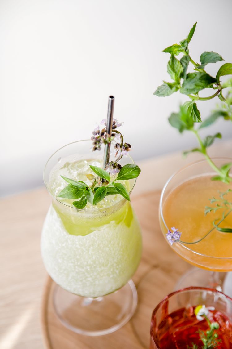 Snip Your Way to a Fresher Happy Hour with This Cocktail Cutting Garden