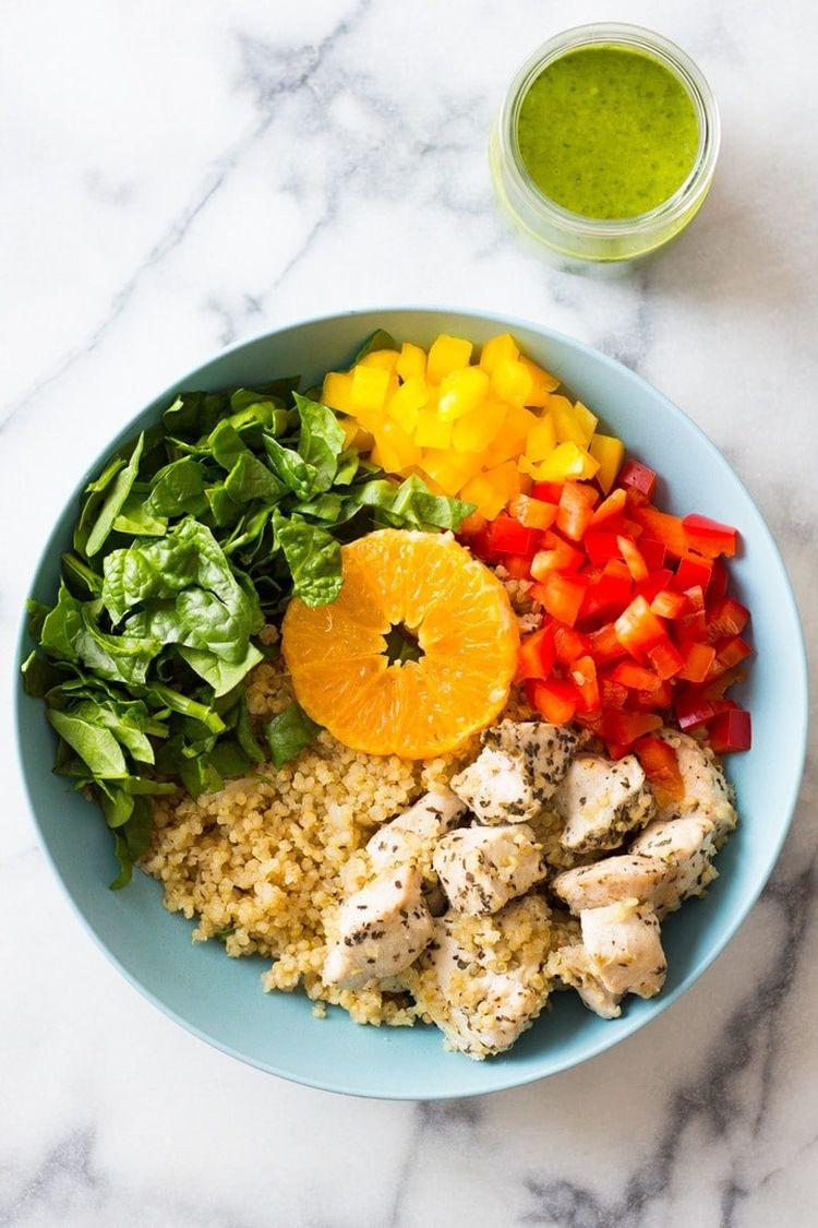 Instant Pot Quinoa Chicken Bowl Picture
