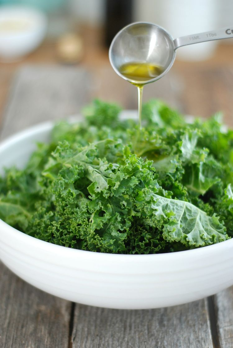 how to make kale chips less bitter