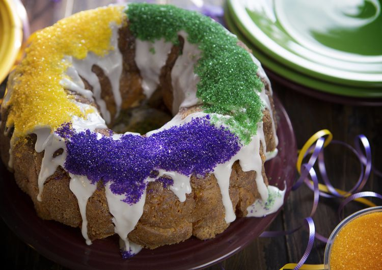 King Cake Monkey Bread