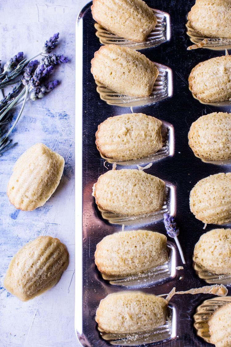 Lavender Honey Madeleines 2Resize