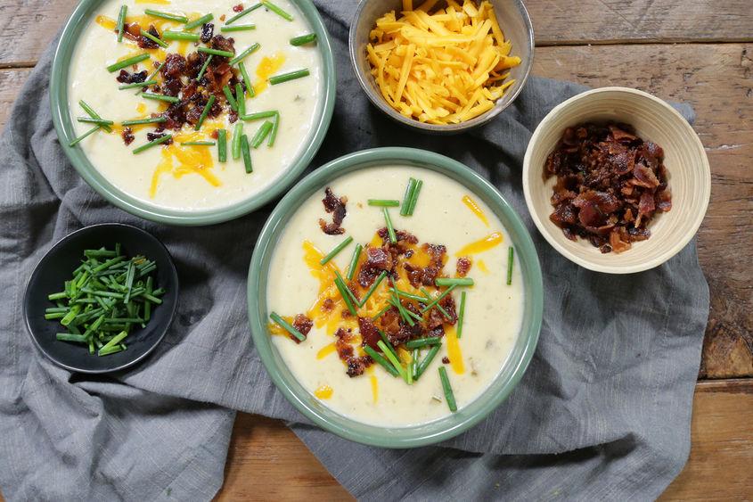 Leftover Potato Soup 2