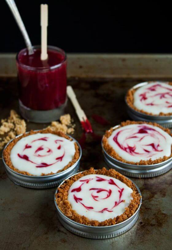 Mason Jar Tarts White Chocolate