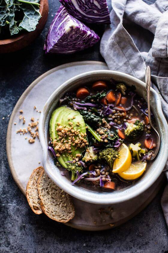 Mean Green Detox Vegetable Soup 1