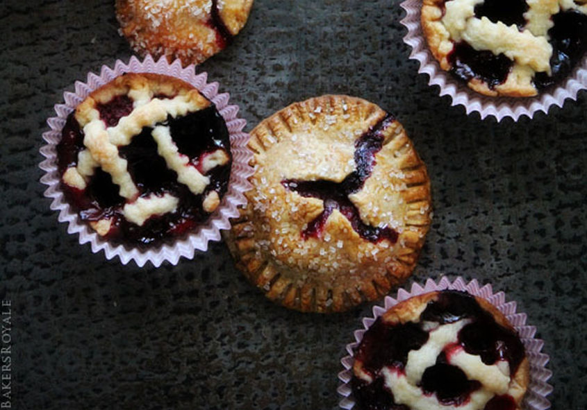 Mixed Berry Hand Mini Pies From Bakers Royale