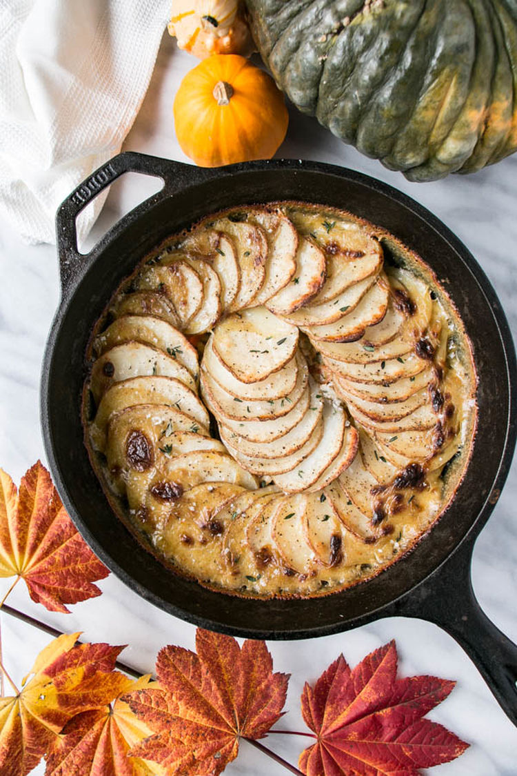 One Pot Leftover Turkey Pot Pie