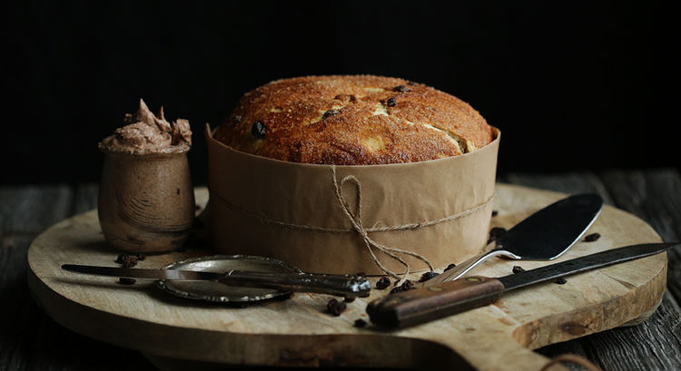 Holiday Panettone Recipe with Currants and Raisins