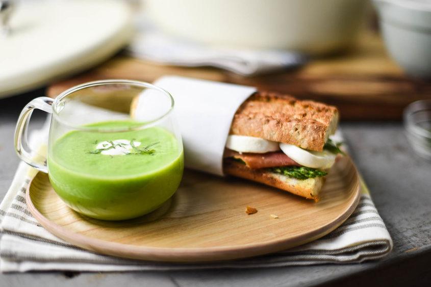 Pea Soupand Sandwich 4