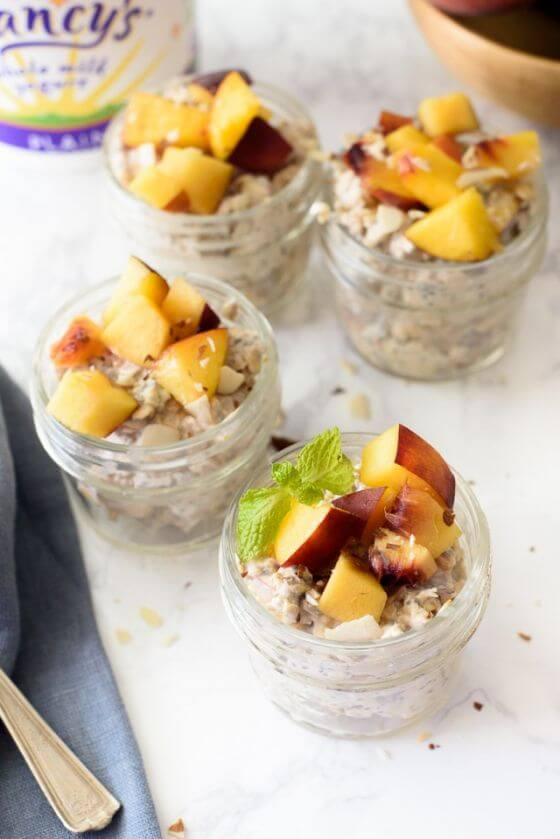 Peach Chia Overnight Oats 05