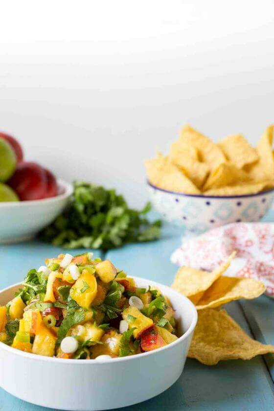 Peach Salsa Picture