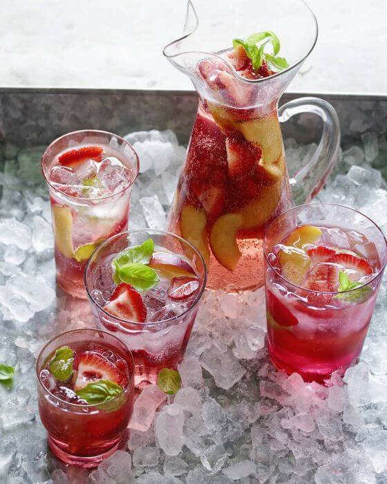 Peach And Cherry Sangria From Www Whatsgabycooking Com @whatsgabycookin