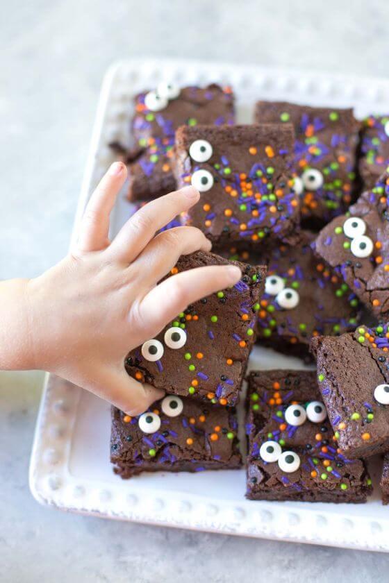Peekaboo Brownies 4