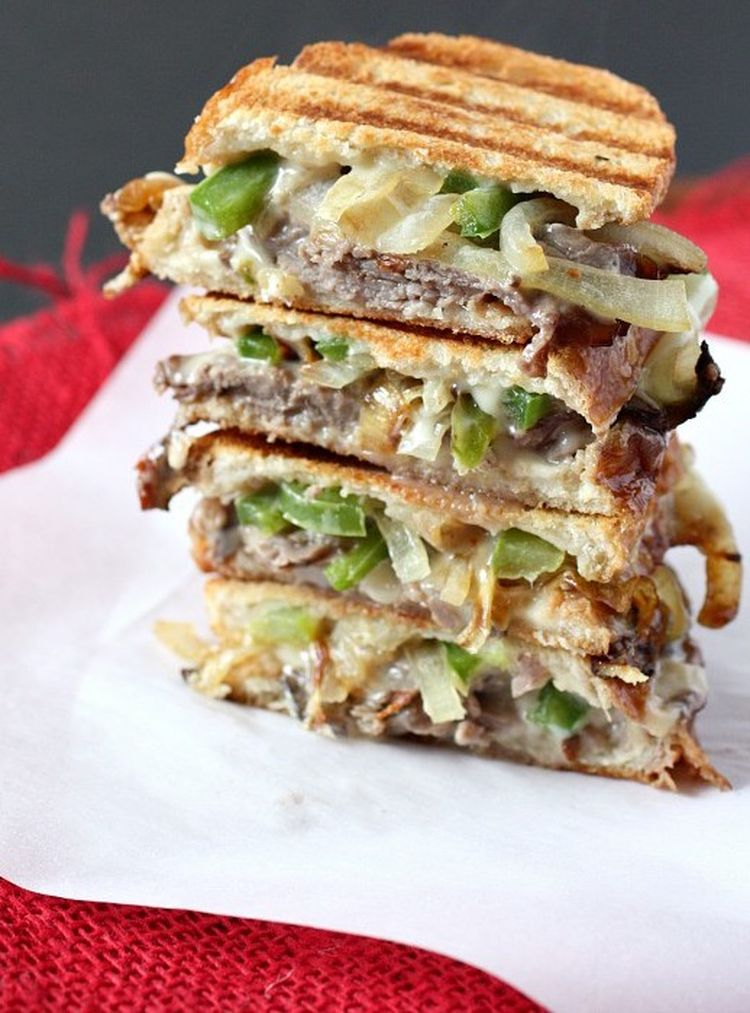 Philly Cheesesteak Grilled Cheese 20