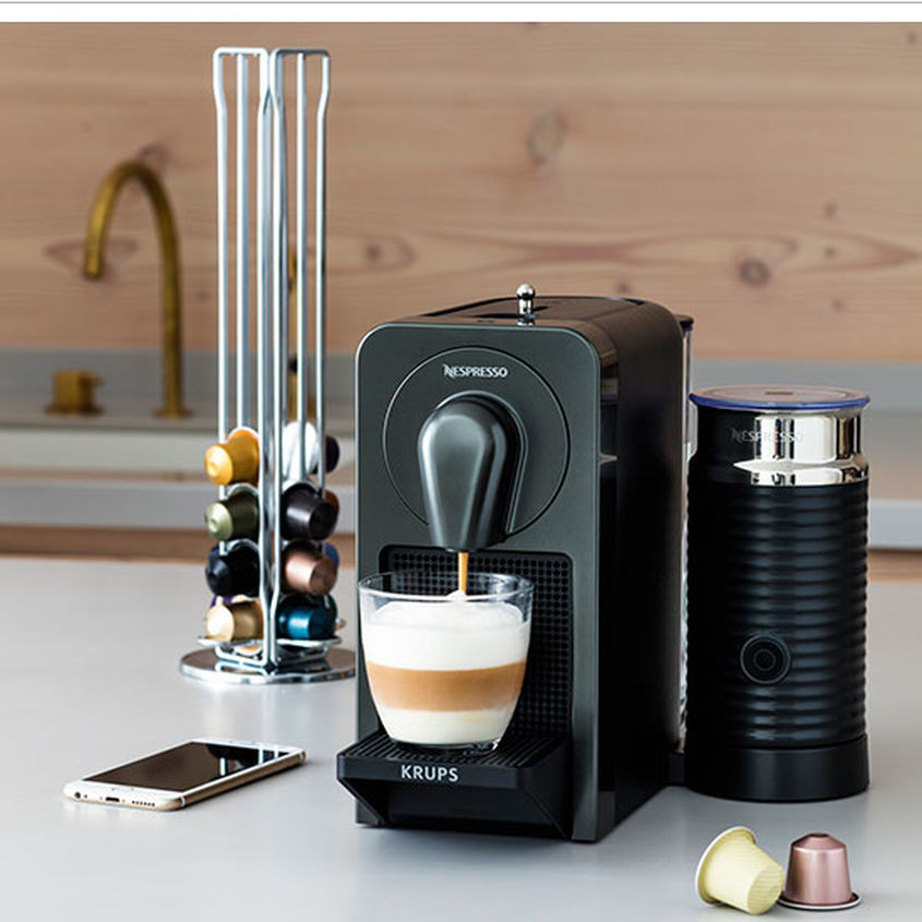 Prodigio Connected Coffee Maker  Nespresso  Girlabouttech Com