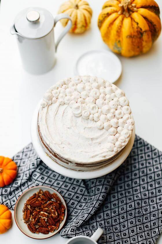 Pumpkin Layer Cake 10