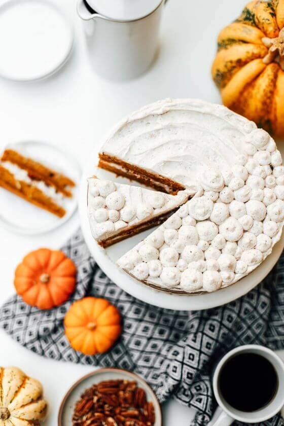 Pumpkin Layer Cake 17