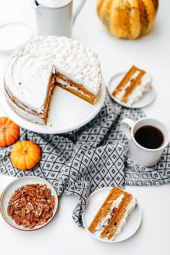 Pumpkin Layer Cake 19