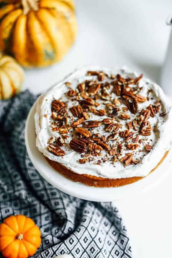 Pumpkin Layer Cake 8