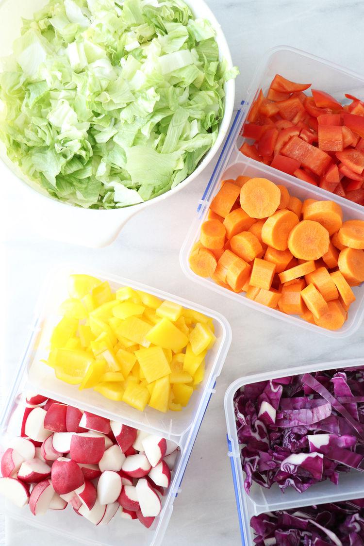Rainbow Salad Ingredients2
