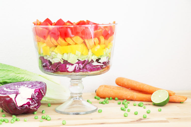 7 Layer Rainbow Salad Recipe