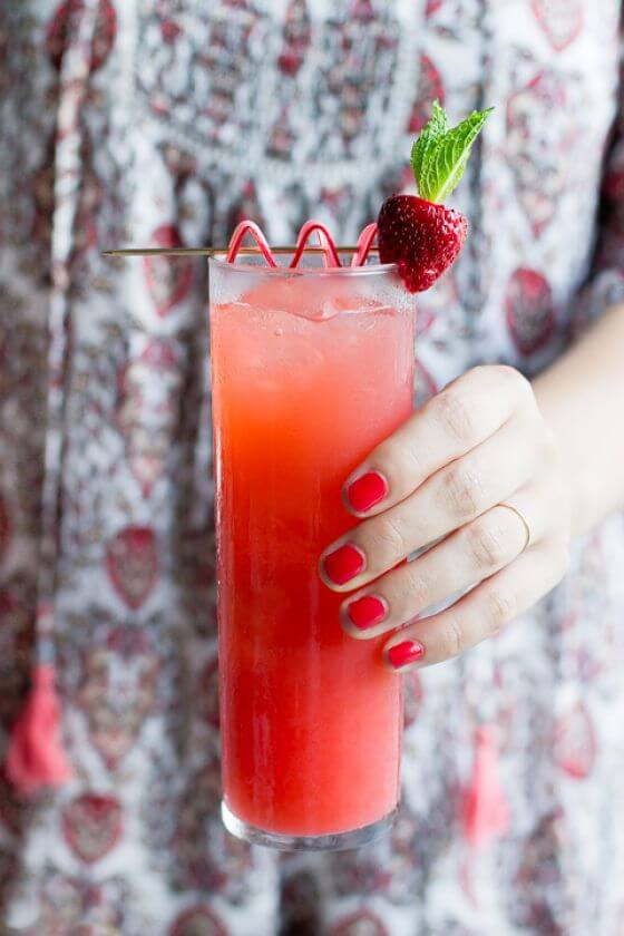 Rhubarb Cocktails 10