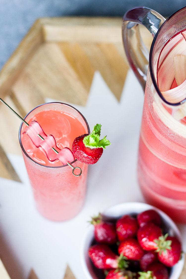 Rhubarb Cocktails 11