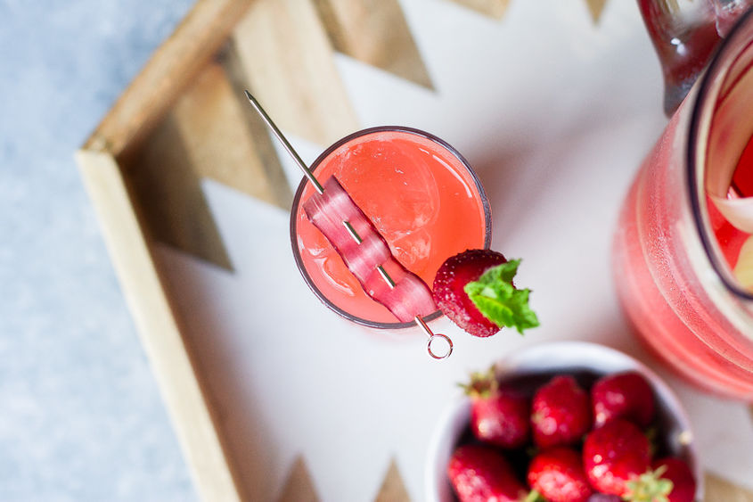 Rhubarb Cocktails 12
