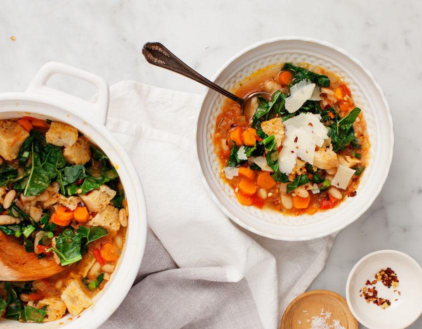 Ribollita Tuscan White Bean Soup