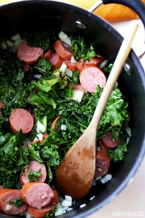Sausage And Kale