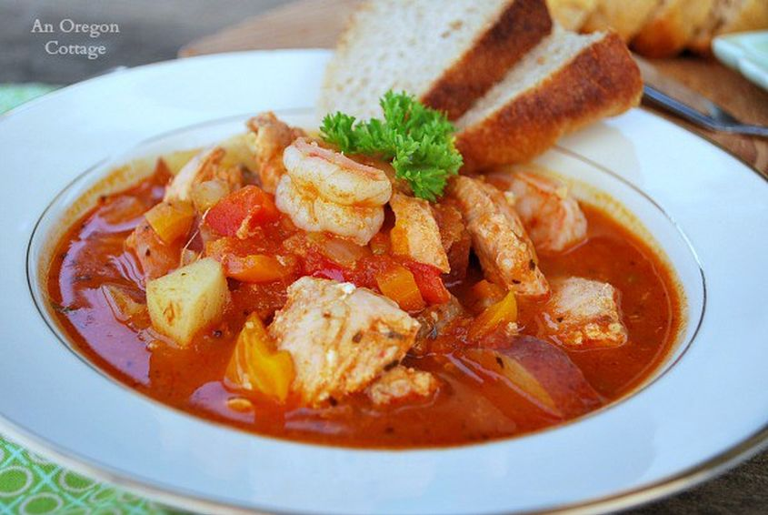 Savory Seafood Tomato Stew An Oregon Cottage