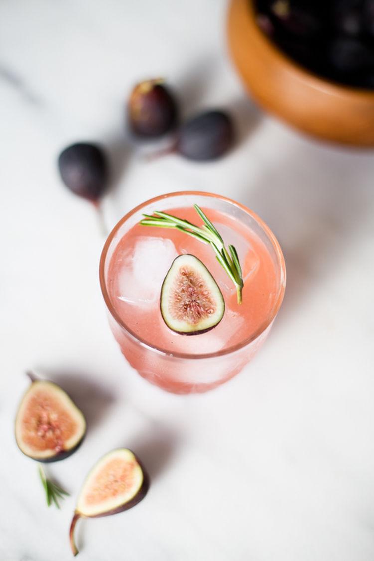 Sous Vide Fig Cocktails 7