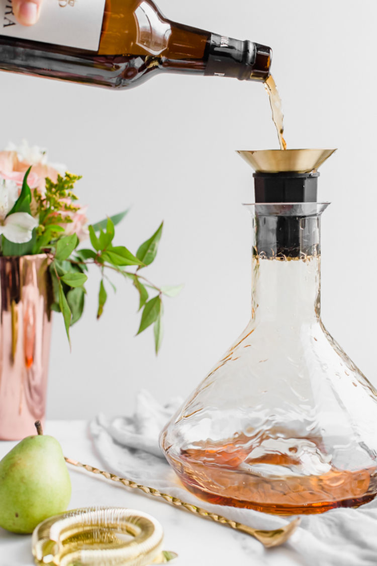 Spiced Pear Cocktails 2