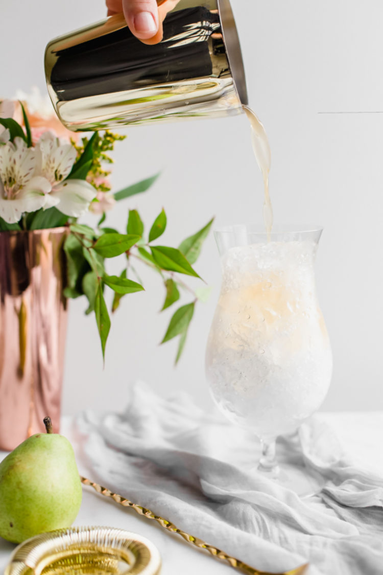 Spiced Pear Cocktails 3