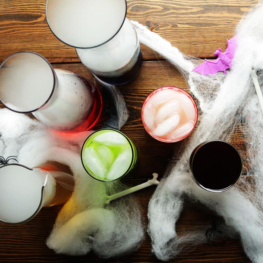 Spooky Drinks Web