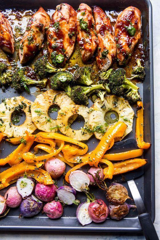 Spring Sheet Pan Chicken Dinner 3 Resize