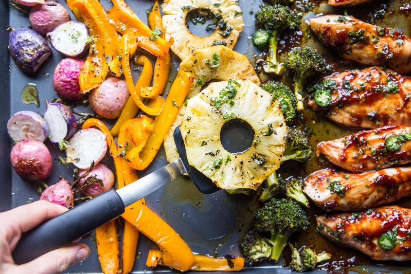 Spring Sheet Pan Chicken Dinner 6 Resize