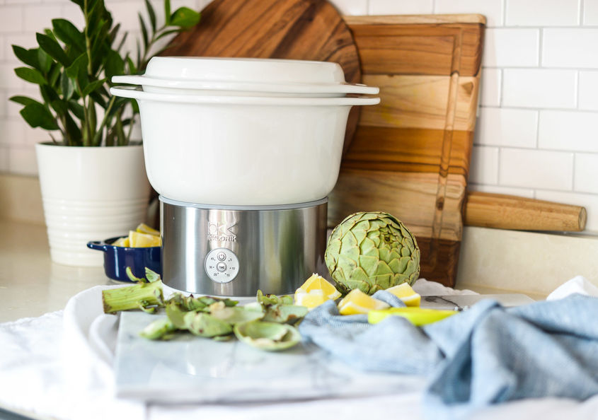 Steamed Artichokes 3