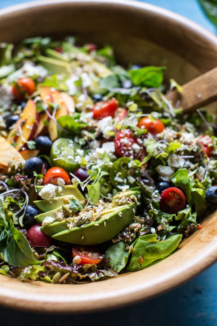 Summer Chopped Salad With Cherries 6Resize
