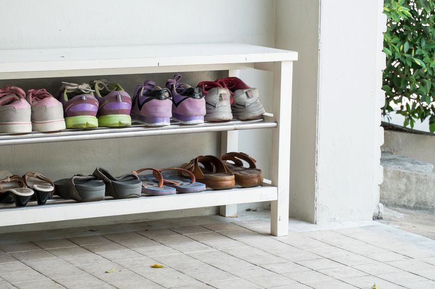 Take Your Shoes Off Healthier Home