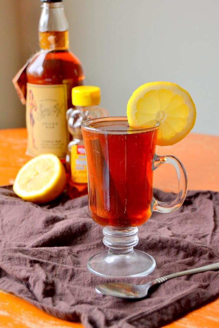 Tattooed Martha Black Tea Hot Toddy With Rum 4