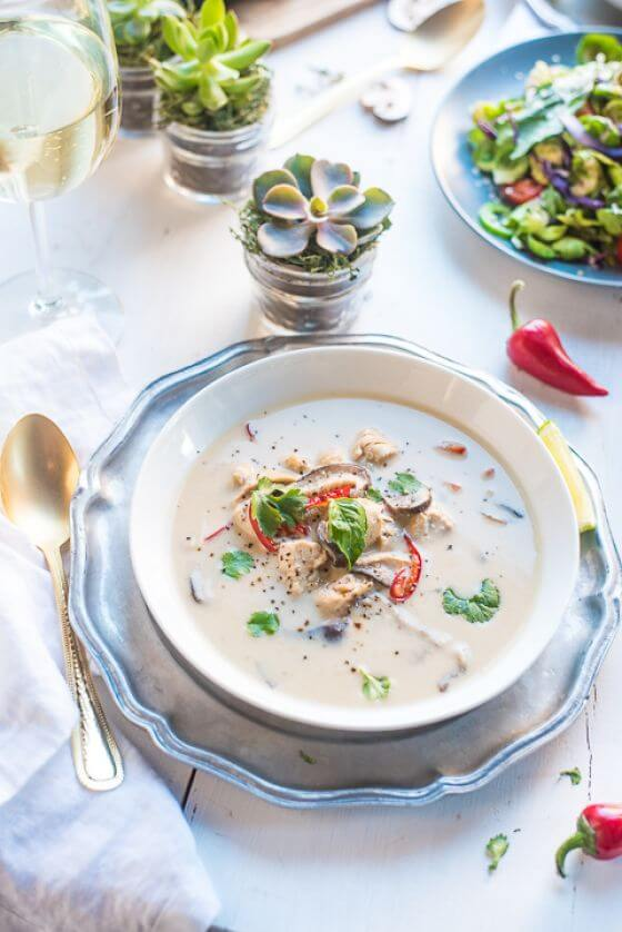 Thai Chicken And Coconut Soup 07
