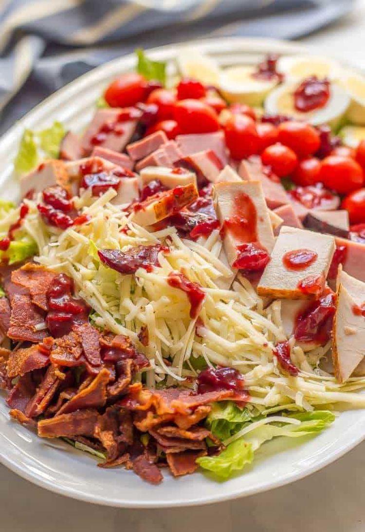 Thanksgiving Chef Salad 4